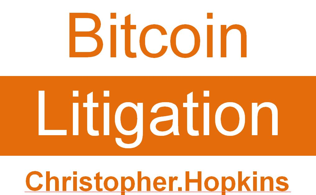 "Christopher Hopkins Discusses ""Bitcoin Litigation"" at Atlanta Bitcoin Consumer Fair"