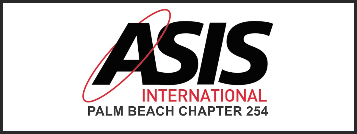 Christopher Hopkins speaks at ASIS International (West Palm Beach ...